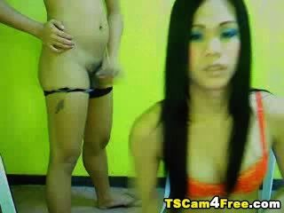 Sexo anal anal transexual asiático
