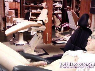 Lelu, amar, femininas, dentista, seduz, paciente