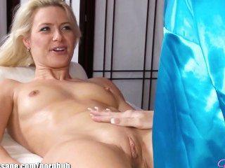 Bela lésbica lésbica massagem