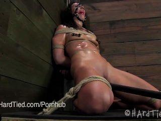 Bondage legenda wenona em situação difícil bondage \u0026 sweaty com cyd blac