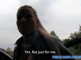 Publicagent hot blonde teen fucking no meu carro