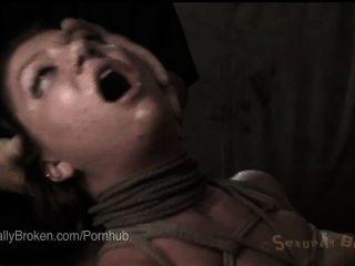 Ruiva inocente cutie claire robbins rosto fodido em escravidão