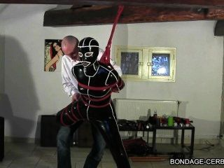 Francês shibari bondage corda cerbere claudiacuir bdsm