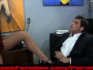 Ashley fires femdom compilação handjob pegging pantyhose bondage teasing
