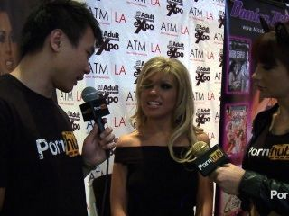 Pornhubtv aj applegate interview at avn awards hot