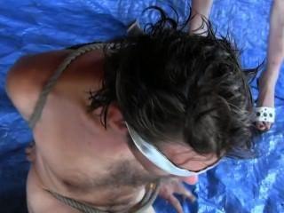 chip azul.3 tipo de femdom pussyeating.humiliado homem por sylvia chrystall
