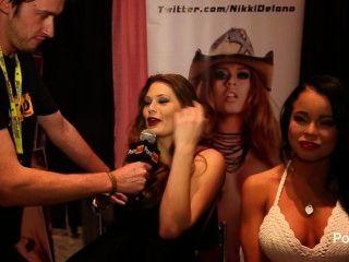 Pornhubtv alison moore e nikki delano entrevista na exxxotica 2014
