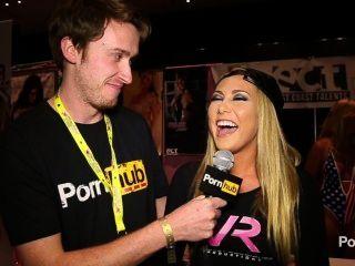 Pornhubtv carter cruzeiro entrevista em exxxotica 2014 atlantic city