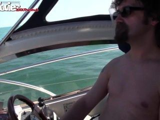 Filmes divertidos garota alemã fodida em um barco