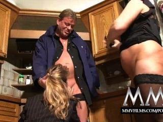 Mmv filmes dois maduros wifes partilha um galo