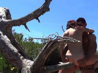 Debora e diego espanhol casal fodendo na praia
