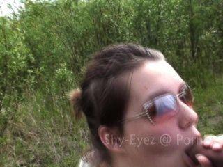 Tímido eyez \u0026 tha cumshot rei (hd pov 2 rápido blowjobs ao ar livre com tratamentos faciais
