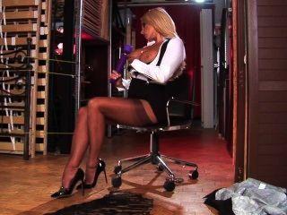Dannii harwood secretary sexy