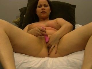 Sexy anabelle pussy cums para seus fãs!