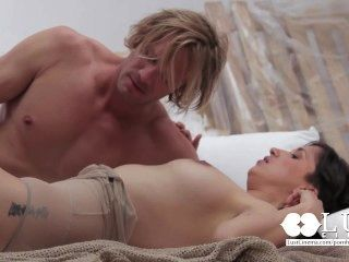Desejo de cinema sensual por sexo fetichista