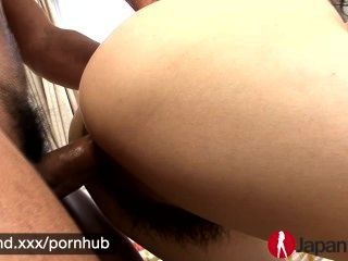 Japan hd sexy babe asiática recebe um creampie