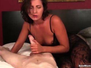 Hot milf dick sucking