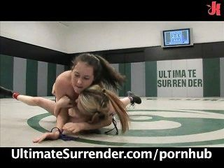 Lésbica lésbica tesão no ringue