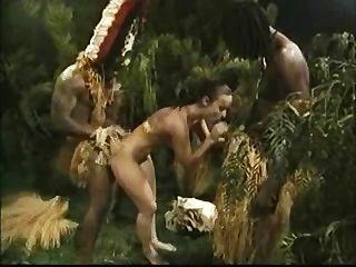 Caras africanos fodendo uma cadela branca