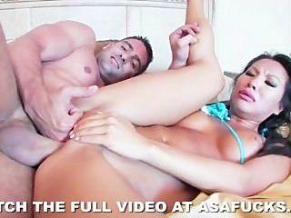 Hot asian asa akira adora sexo áspero
