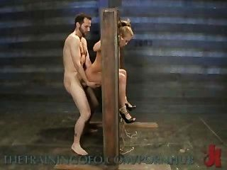 Mia lelani porno pornô exótica é amarrada, torturada e fodida