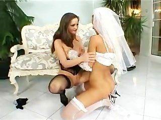 Boston casamento (sandy e sandra quente lésbicas)