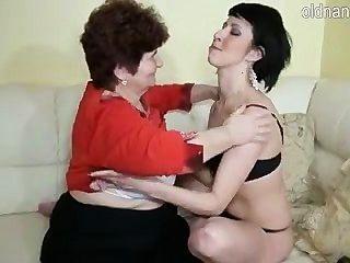 Vovó e rapariga