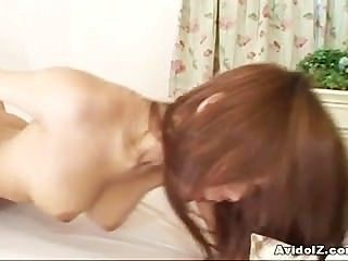 Busty japanese haruka sanada fodido duro