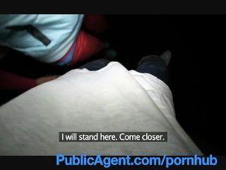 Publicagent lucy obtém meu grande pau em seu atrás da estação de trem