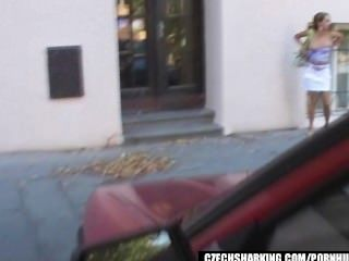 Czech amador meninas sharked nas ruas
