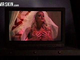 Celebridades noivas rasgar seu vestido e ficar fodido