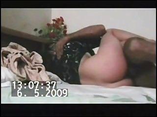 Paki menina muçulmana em kameez preto fode 5 polegadas paki pantera pênis