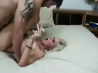 Blonde smoking fetish sex cena cheia