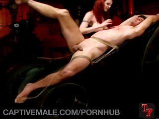 Cativo a uma dominatrix