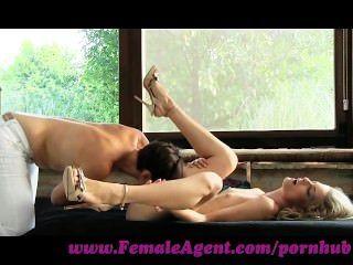 Agente feminina.Dinamite sexual desencadeada