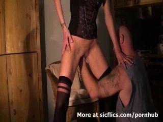 Orgasmos fisting bichano monstro