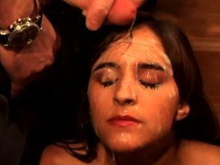 Cum coberto fronte compilação facial parte 4