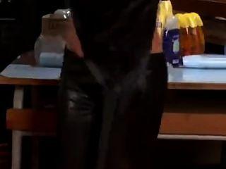 Lésbicas, leggings e óleo de lotes