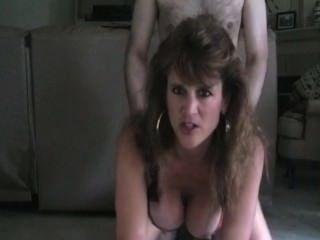 Hot mama milf doggy estilo de fumar sexo