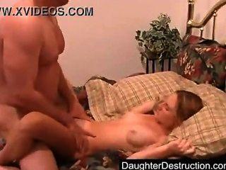 Pai e filha de etapa