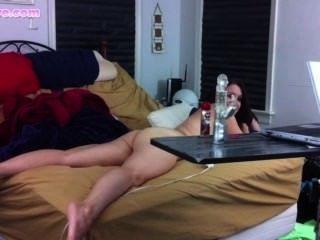 Lelu amor por trás das cenas masturbação hd