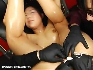 Extrema fetiche japonês e bondage sexo