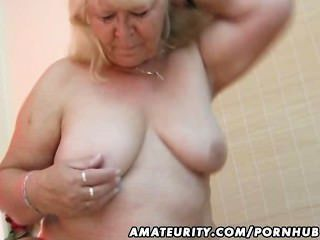 Chubby amador esposa suga e fode em sua cama