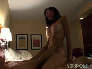 Hardcore sexo em um quarto de hotel