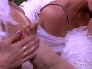 Show de chupar pés com lésbicas tesão