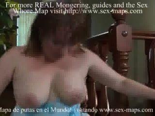 Prostituta madura e garoto foda