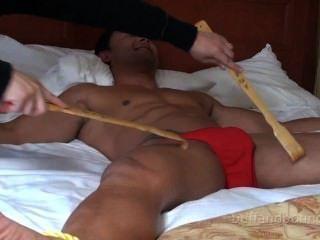 Lindo e quente músculo hunk ligado e catido dante brice