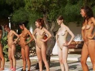 Seis pintainhos despidos pela piscina da rússia