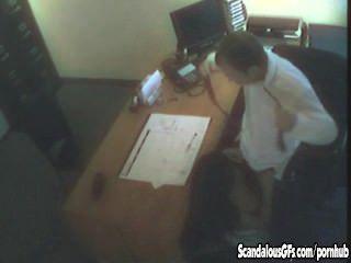 Aventura sexual no escritório