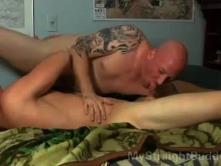 Hot straight guy gets blowjob do amigo